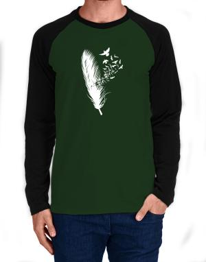 Birds of a feather Long-sleeve Raglan T-Shirt