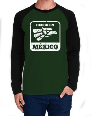 Hecho en Mexico Long-sleeve Raglan T-Shirt