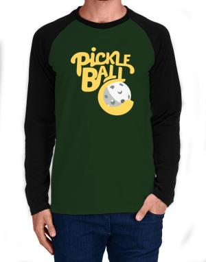 Pickleball Long-sleeve Raglan T-Shirt