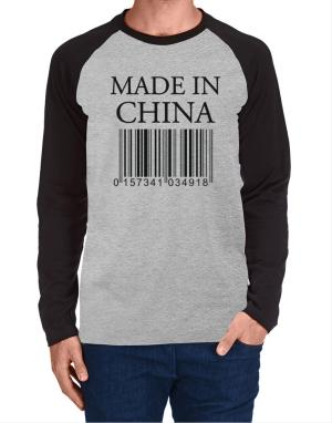 Raglan Manga Larga de Made in China
