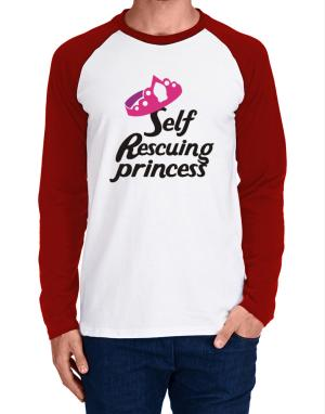 Raglan Manga Larga de Self Rescuing Princess