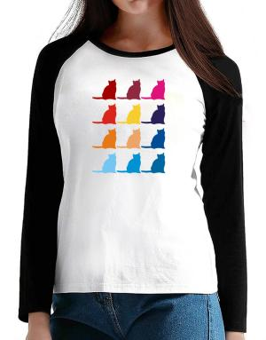 Colorful Russian T-Shirt - Raglan Long Sleeve-Womens