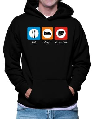 Eat sleep Accordion Hoodie