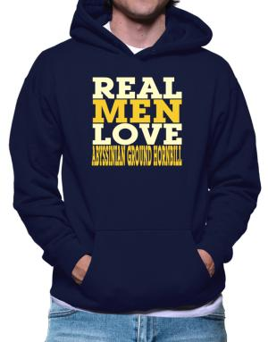 Real Men Love Abyssinian Ground Hornbill Hoodie