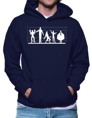 Classic Monster Line Up Hoodie