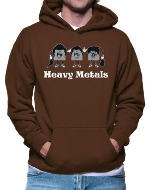 Heavy metals periodic table Hoodie