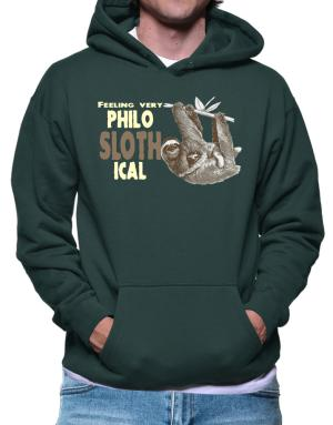 Philosophical Sloth Hoodie