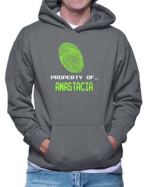 Property Of _ Anastacia - Fingerprint Hoodie