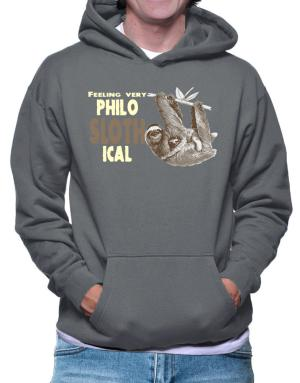 Sudaderas Con Capucha de Philosophical Sloth
