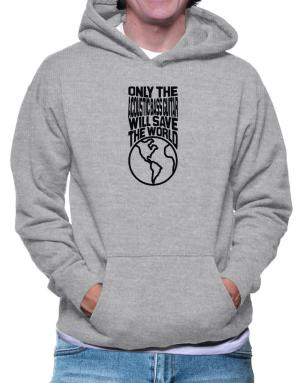 Only The Acoustic Bass Guitar Will Save The World Hoodie