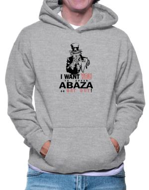 I Want You To Speak Abaza Or Get Out! Hoodie