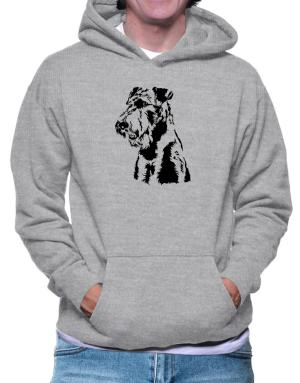 Airedale Terrier Face Special Graphic Hoodie