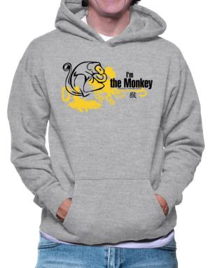 """  I AM THE Monkey  "" CHINESE / FUNKY COLOR Hoodie"