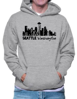 Seattle, Washington skyline Hoodie