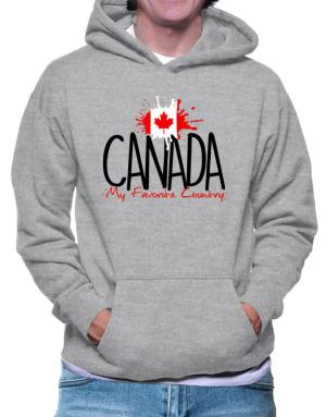Canada my favorite country Hoodie