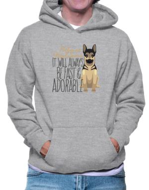 Polera Con Capucha de It will always be fast & adorable Belgian malinois