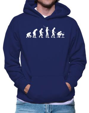 Evolution of gamer Hoodie