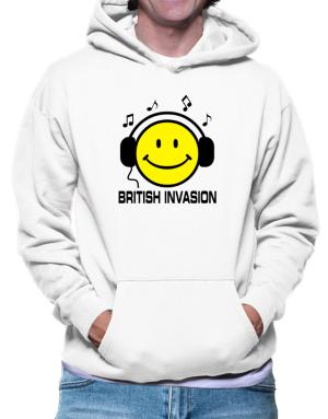 British Invasion - Smiley Hoodie