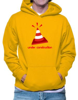 Baby Under Construction Hoodie