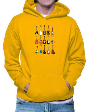 Guitar Players Are Well Strung Hoodie