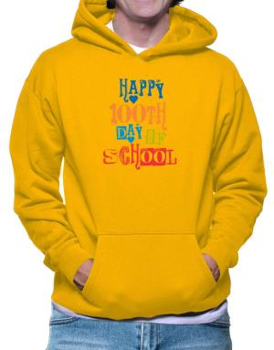 Happy 100th day of school cool style Hoodie