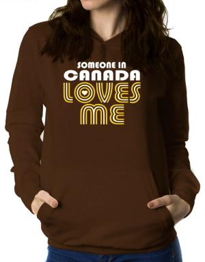 Polera Con Capucha de Someone In Canada Loves Me