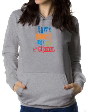 Happy 100th day of school cool style Women Hoodie