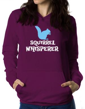Squirrel Whisperer Women Hoodie