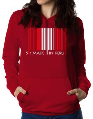 Made in Peru cool design Women Hoodie
