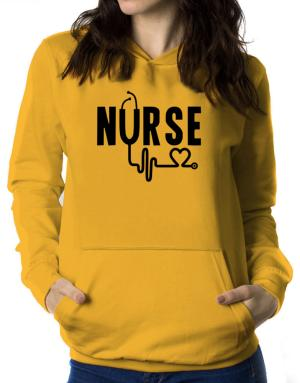 Nurse cool design Women Hoodie