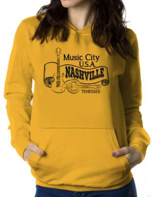 Sudaderas Con Capucha de Music city Usa Nashville Tennessee