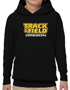 Track And Field - Oregon Hoodie-Boys