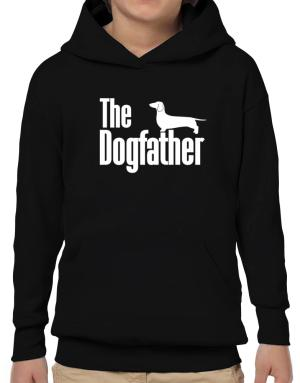Poleras Con Capucha de The dogfather Dachshund