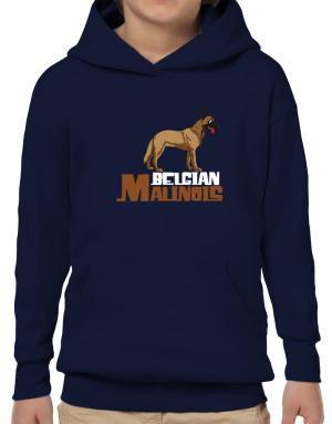 Belgian malinois cute dog Hoodie-Boys