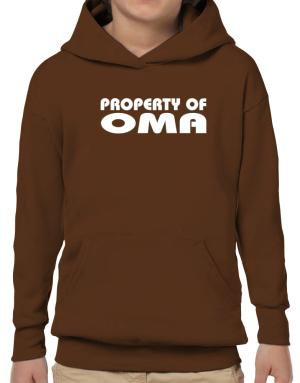 """ Property of Oma "" Hoodie-Boys"