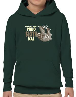 Philosophical Sloth Hoodie-Boys