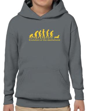 Evolution Of The Dachshund Hoodie-Boys