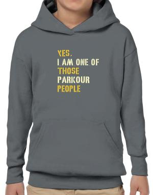 Yes I Am One Of Those Parkour People Hoodie-Boys