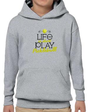 Poleras Con Capucha de Life is short play pickleball