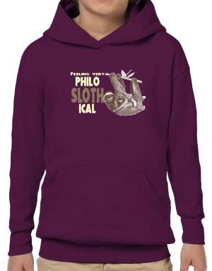 Poleras Con Capucha de Philosophical Sloth