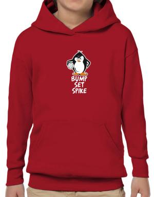 Volleyball Penguin Hoodie-Boys