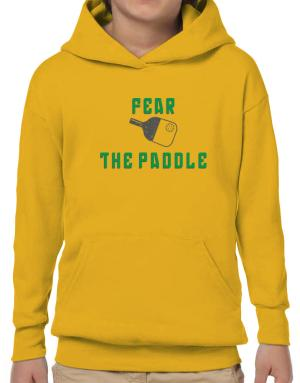 Poleras Con Capucha de Fear the Paddle Pickleball