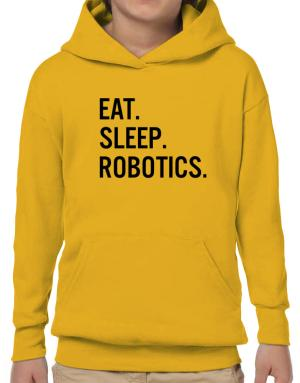 Eat sleep robotics Hoodie-Boys