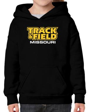 Track And Field - Missouri Hoodie-Girls