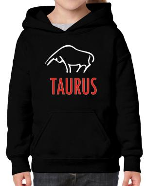 Taurus - Cartoon Hoodie-Girls