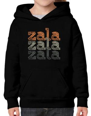 Zala repeat retro Hoodie-Girls