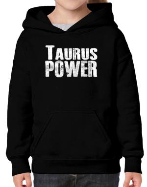 Taurus power Hoodie-Girls