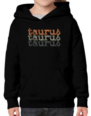 Taurus repeat retro Hoodie-Girls