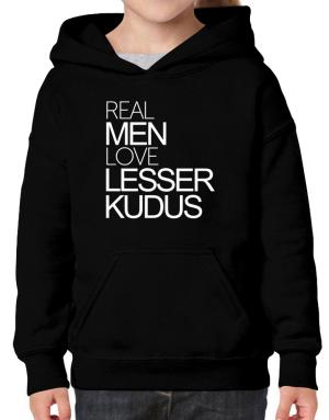 Real men love Lesser Kudus Hoodie-Girls