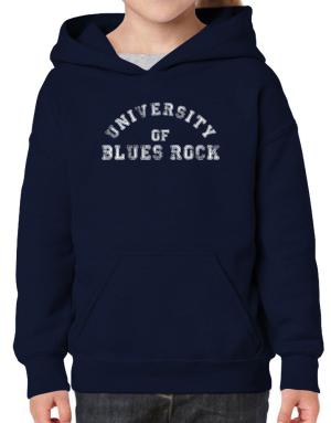 University of Blues Rock Hoodie-Girls